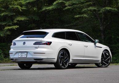 【VW アルテオン シューティングブレーク 新型試乗】ただ一言、スタイリッシュ!…中村孝仁