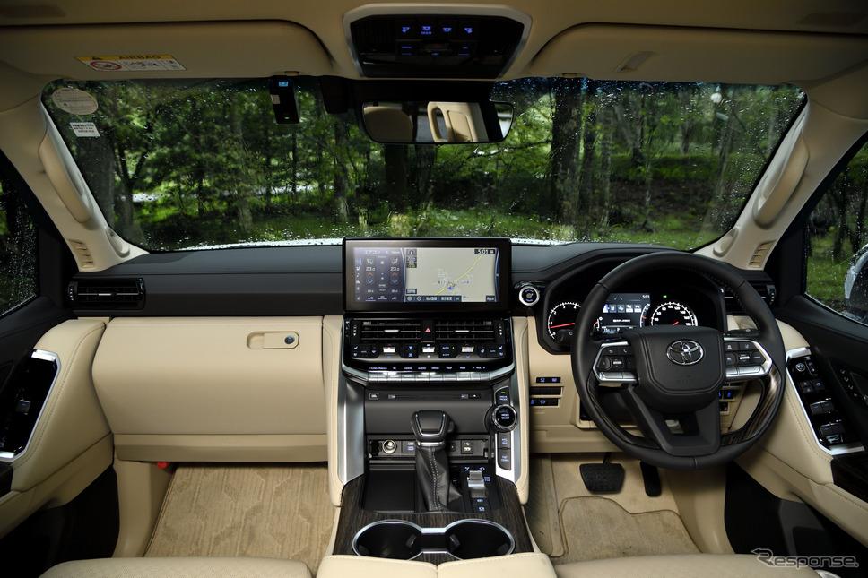 トヨタ ランドクルーザー 新型(ZX ディーゼル)《写真撮影 雪岡直樹》