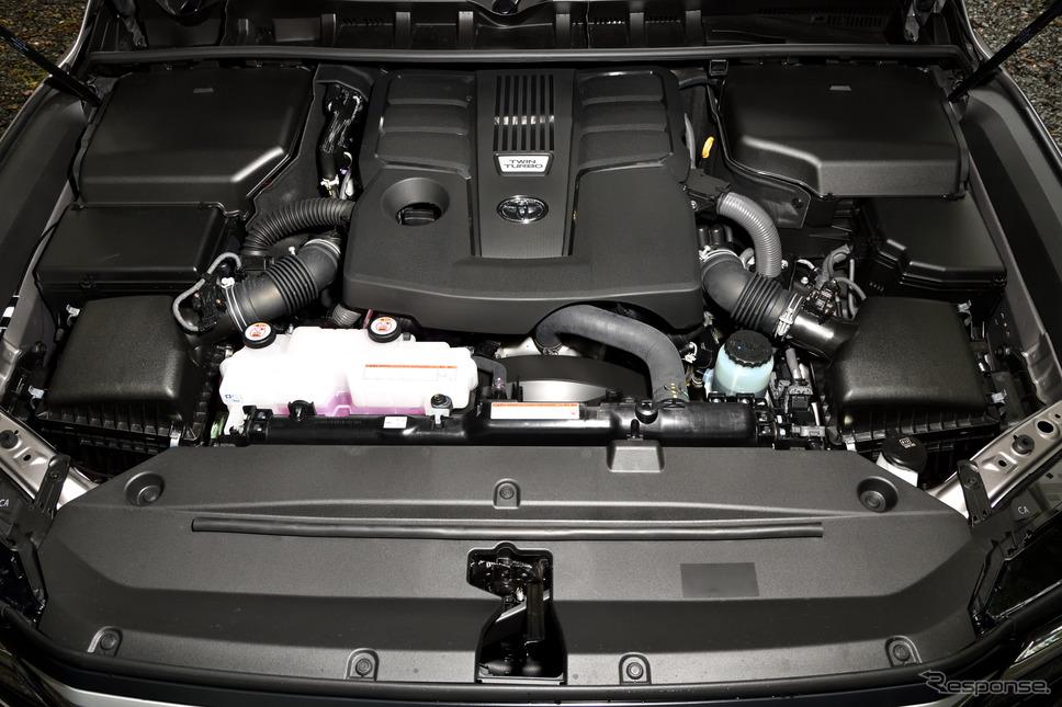 トヨタ ランドクルーザー 新型(ZX ガソリン)《写真撮影 雪岡直樹》