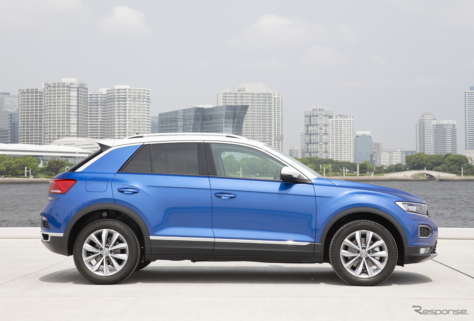 VW T-Roc Style Design Package(写真はディーゼルのTDI)《写真提供 フォルクスワーゲン》