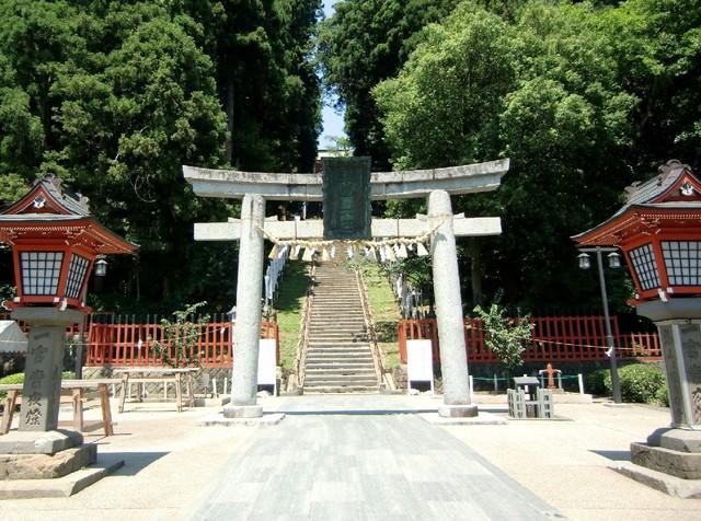 鹽竈神社(塩釜神社)へドライブ...