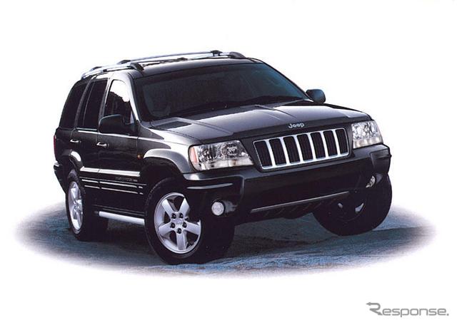 ジープ グランドチェロキーの2002-2004年モデルreproducible