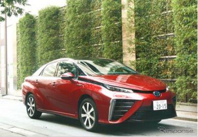 岩谷産業にトヨタ MIRAI 1台目が納車…水素の普及・啓発に活用