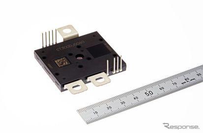 三菱電機、EVモーター用パワー半導体モジュールをサンプル出荷…小型パッケージ仕様