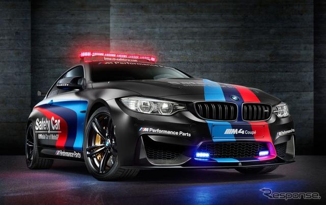 BMW M4 クーペのMoto GP セーフティカー