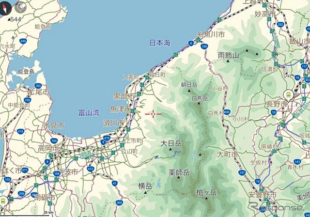 MapFanシリーズ、北陸新幹線開業に伴い地図データの更新