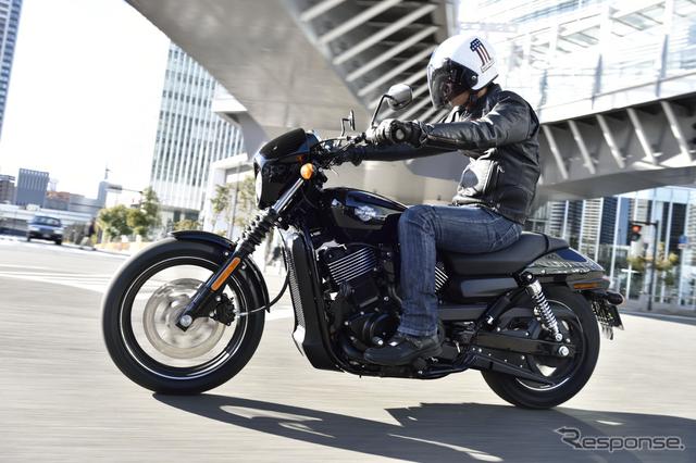 話題のNEW MODEL ストリート750に乗れるチャンス!画像提供:ハーレーダビッドソン ジャパン