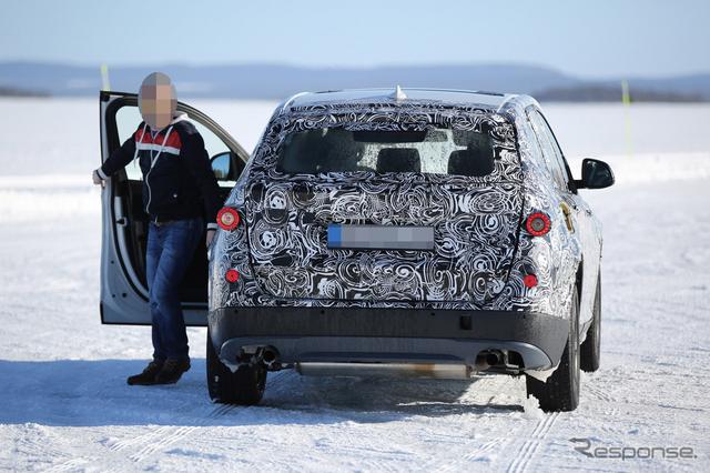 BMW X3 スクープ写真《APOLLO NEWS SERVICE》