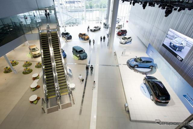 日産自動車 グローバル本社ギャラリー《提供 日産自動車》