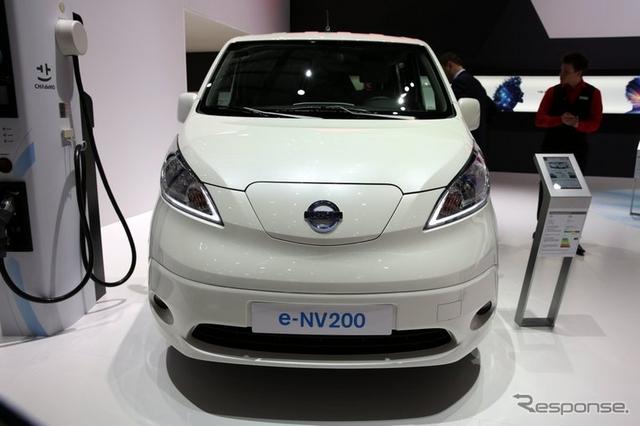 日産 e-NV200(ジュネーブモーターショー15)