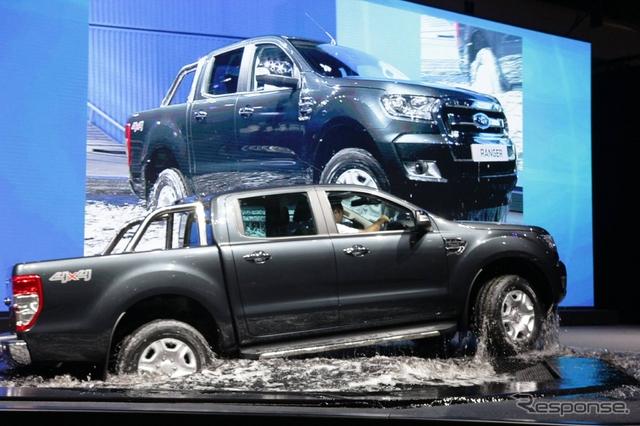 フォード レンジャー 改良新型(バンコクモーターショー15)