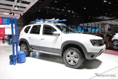 【ジュネーブモーターショー15】ダチアのSUV、ダスター…4WDに1.2ターボ新登場