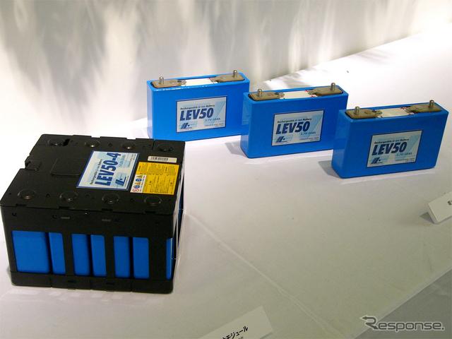 三菱i-MiEVに搭載される電池モジュール