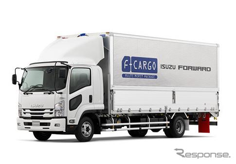 いすゞ フォワード Fカーゴ(参考画像)《提供 いすゞ自動車》