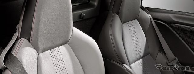 ホンダ S660 コンセプトエディション 専用 レッドステッチ アシンメトリースポーツレザーシート《画像 ホンダ》