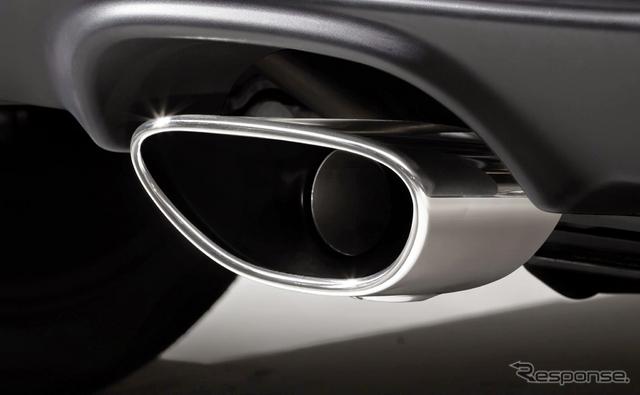 ホンダ S660 コンセプトエディション 内部ブラック塗装エキパイフィニッシャー《画像 ホンダ》