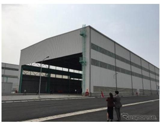 IHIインフラストラクチャーアジアがベトナムに新設した鉄構工場棟