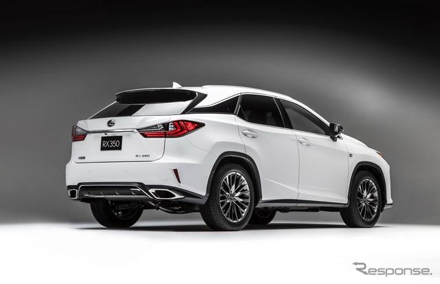 新型レクサス RX のF SPORT