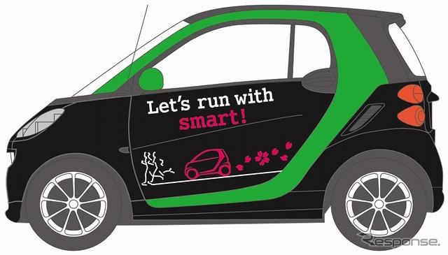 先導車に提供するスマートEVのデザイン