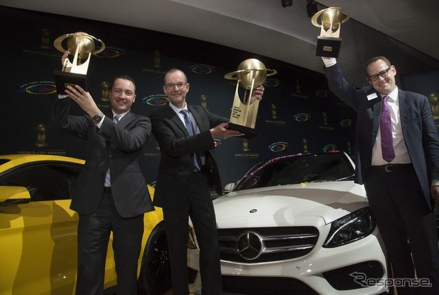 2015ワールドカーオブザイヤーを受賞した新型 メルセデス Cクラス(ニューヨークモーターショー15)