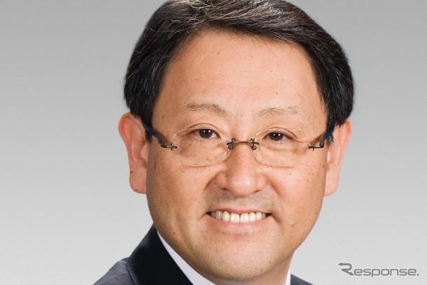 トヨタ自動車 豊田章男社長