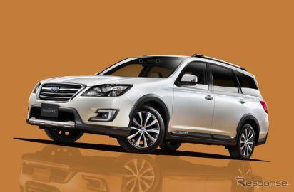 【スバル エクシーガ クロスオーバー7 発表】7人乗りの都市型SUV…275万4000円