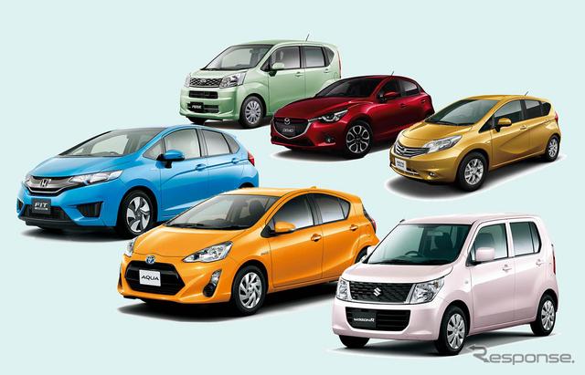 新型車のカタログ燃費競争は30km/リットルを超えるハイレベルな争いになってきている
