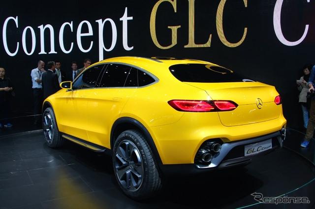 メルセデスベンツ コンセプト GLC クーペ(上海モーターショー15)《撮影 吉田瑶子》