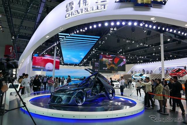 シボレー FNR(上海モーターショー15)《撮影 三浦和也》