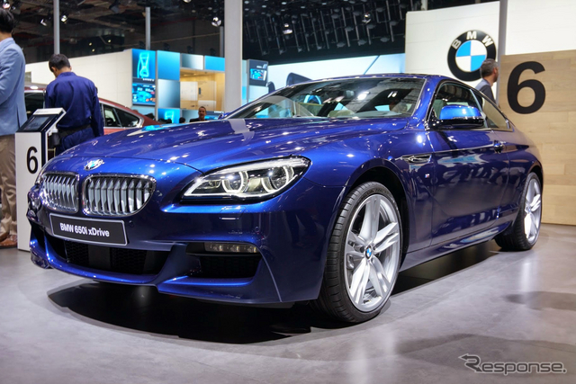 BMW 6シリーズ 改良新型(上海モーターショー15)《撮影 関航介》