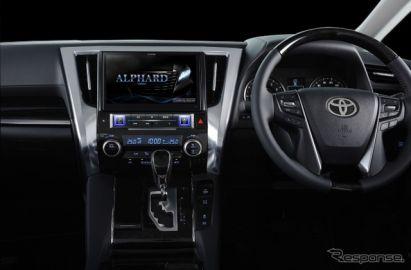 アルパイン、新型 ビッグX プレミアムシリーズ 発表…アル/ヴェル専用、最大10型WXGA液晶を搭載