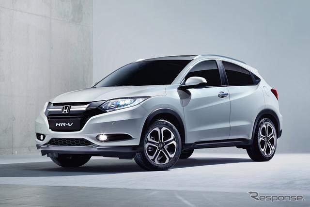 新型ホンダ HR-V(日本名:ヴェゼル)の市販モデル