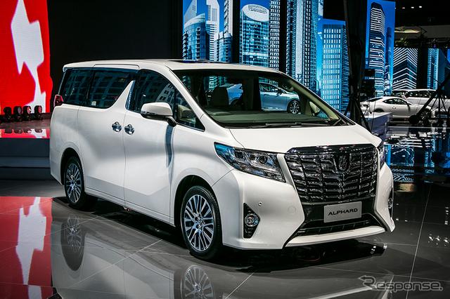 新型 トヨタ アルファード (上海モーターショー15)