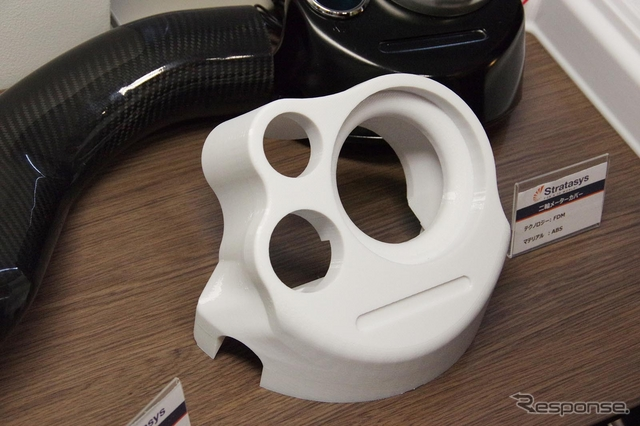 3Dプリンタを用いた製品・治具の例《撮影 宮崎壮人》