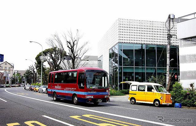 代官山循環バスのイメージ