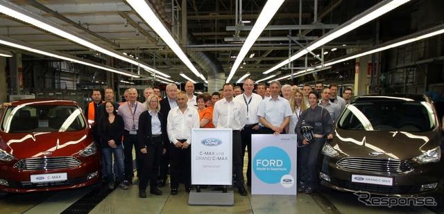 フォード の独工場で生産が開始されたC-MAXとグランドC-MAXの改良新型