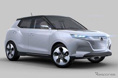 サンヨン の新型SUV、チボリ…PHVコンセプトを初公開