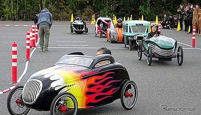 いすゞ自動車 デザインセンターが制作したペダルカー