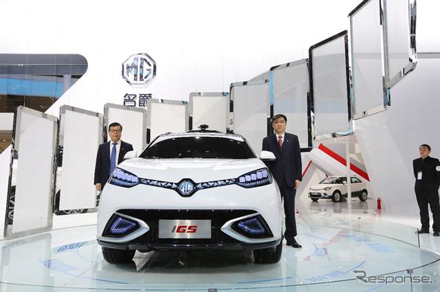 上海汽車のMG iGS(上海モーターショー15)