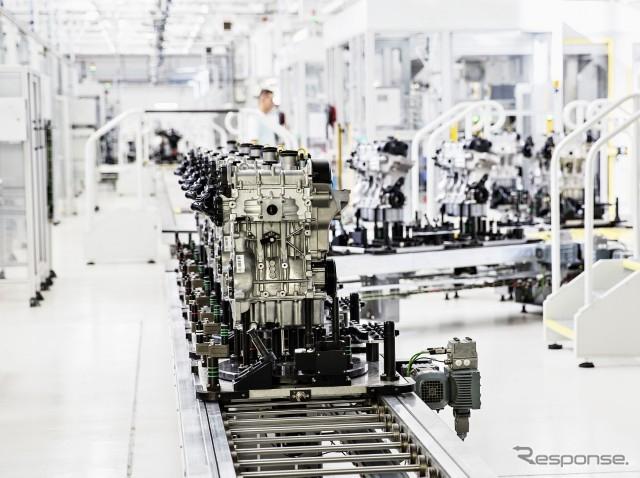 VWグループの1.0リットル直列3気筒ガソリンエンジン(参考画像)