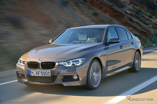 BMW 3シリーズ 改良新型の Mスポーツ