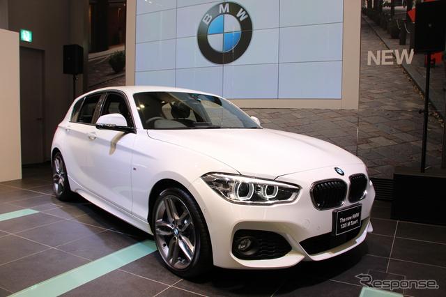 BMW 1シリーズ《撮影 吉田瑶子》
