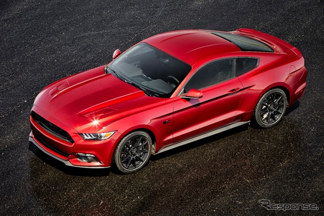 新型フォード マスタング の2016年モデル
