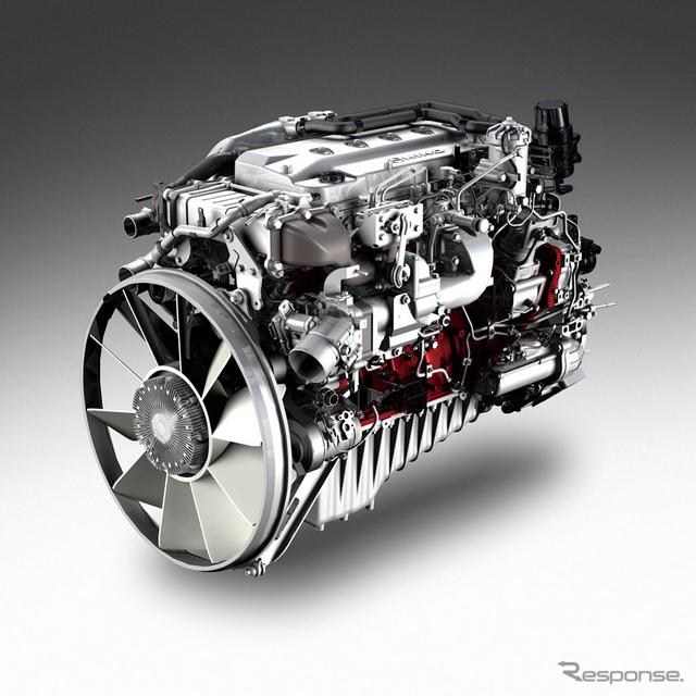日野 大型車用ダウンサイジングターボディーゼルエンジン A09C