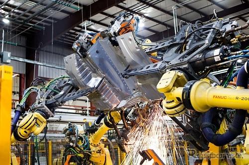 マグナインターナショナルの工場(参考画像)
