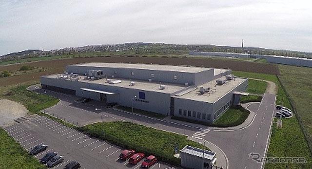 スロバキアに新設した生産工場