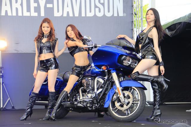 ハーレーダビッドソン BLUE SKY HEAVEN画像提供:ハーレーダビッドソンジャパン