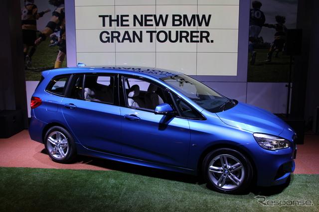 BMW 2シリーズ グランツアラー《撮影 吉田瑶子》