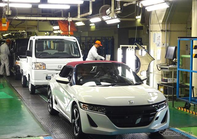 ホンダ S660を生産する八千代工業 四日市製作所《撮影 池原照雄》