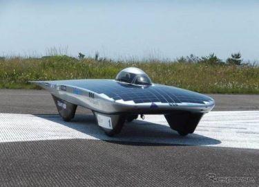 トリナ・ソーラー、大阪産業大ソーラーカーチームに太陽電池モジュールを提供